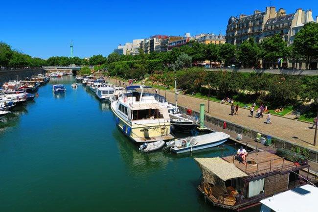 Port de l'Arsenal paris