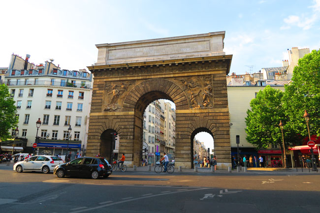 Porte saint martin paris x days in y for Porte saint martin