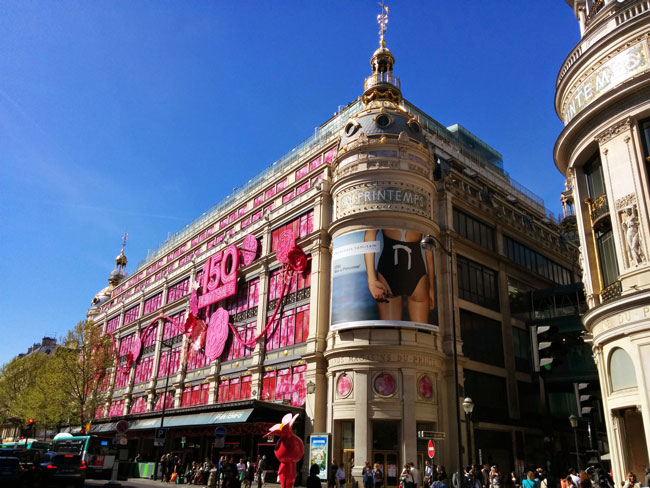 Printemps department store Paris
