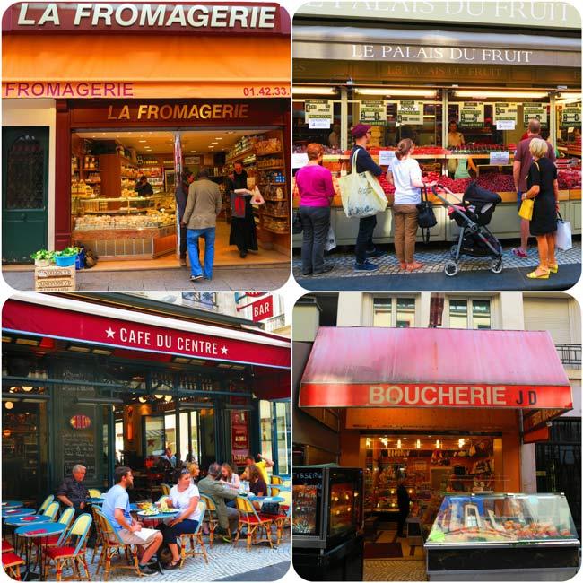 Rue Montorgueil Paris market street