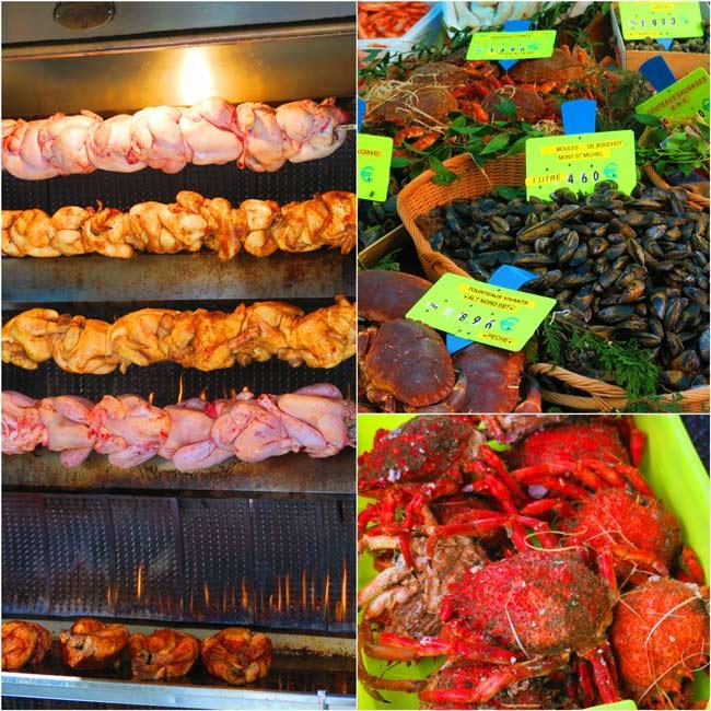 Rue Poncelet parisian food market 1