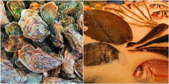Saint Martin covered food market paris