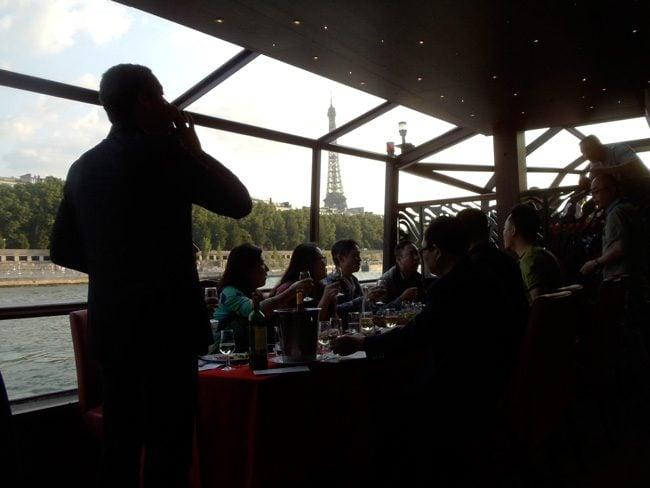 Seine dinner cruise