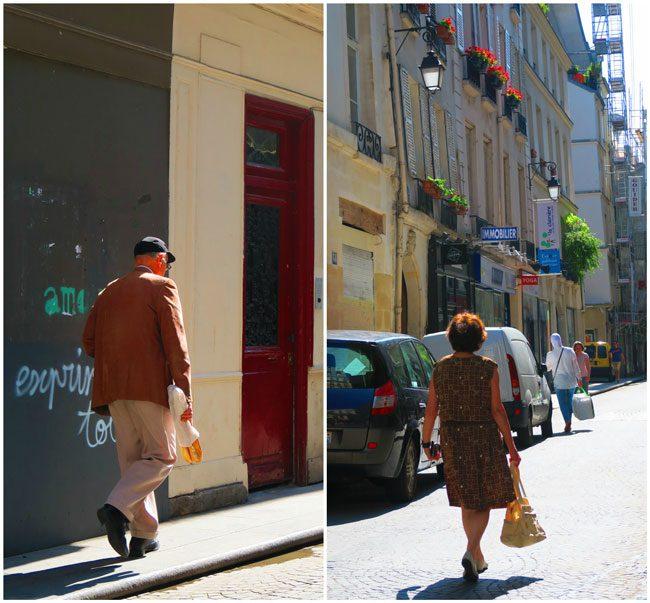 Shopping in Rue Montorgueil Paris
