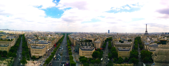 Things To Do Around The Champs Elysees - panoramic cover