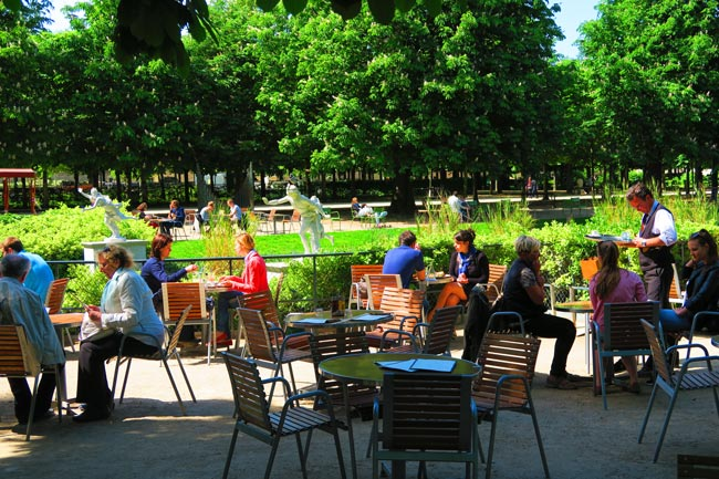 Tuileries Gardens Cafe