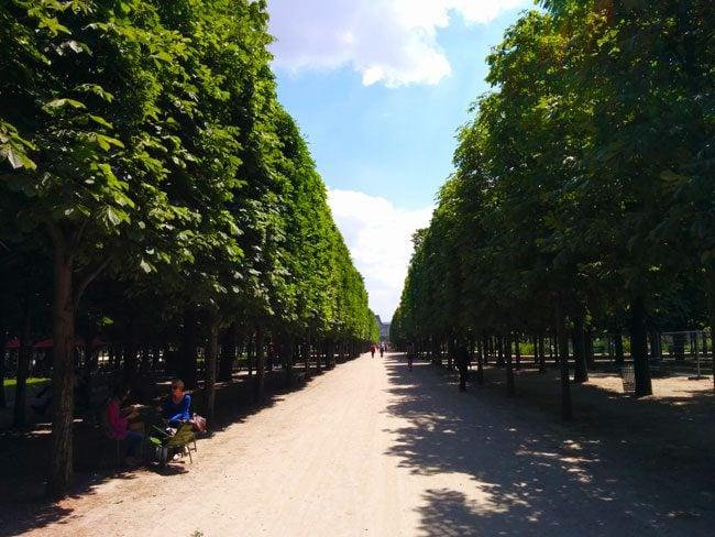 Tuileries Gardens Paris