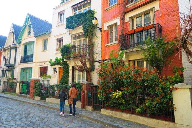 Villa Léandre Montmartre hidden street