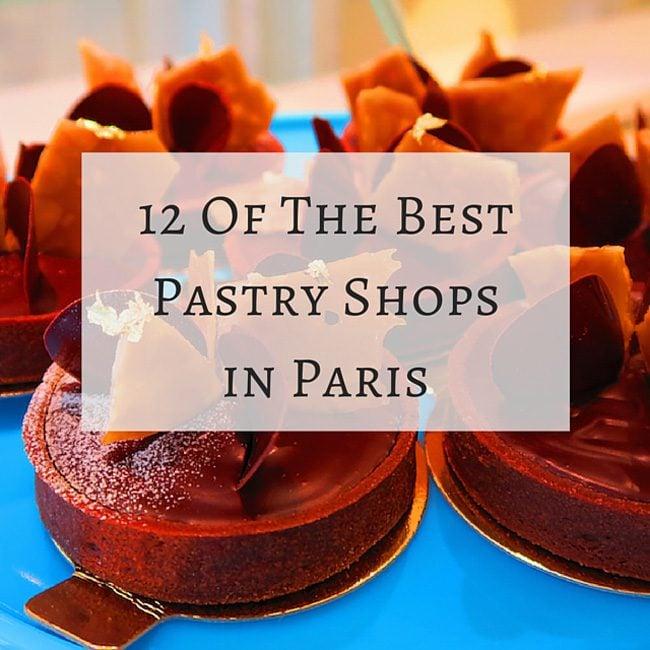 Famous Paris Cake Shops
