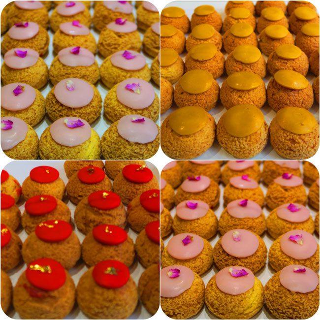 Popelini Paris pastry shop Choux