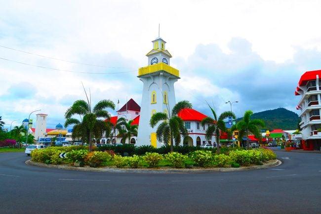 Apia clock tower Samoa