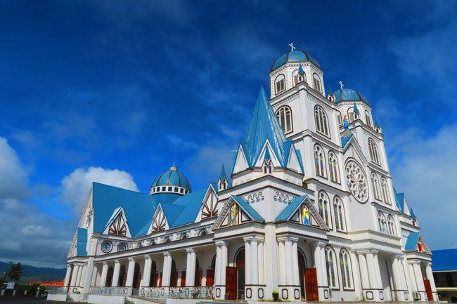 Catholic Church Apia Samoa exterior