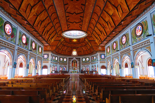 Catholic Church Apia Samoa interior