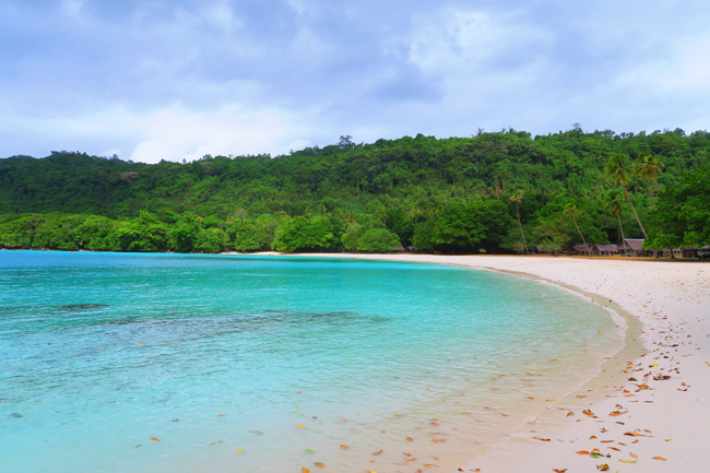 Champagne Beach Espiritu Santo Vanuatu