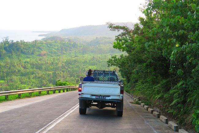 Efate Island Vanuatu cross island drive