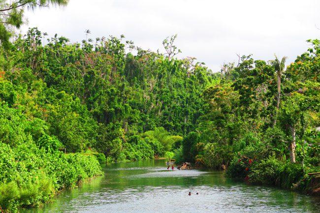 Efate island river