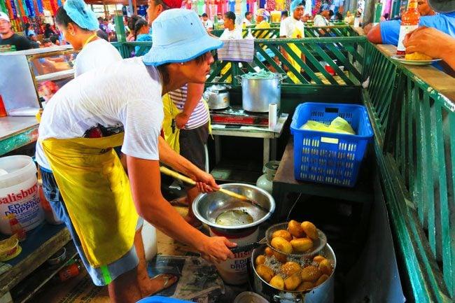 Flea Market Apia Samoa keke puaa