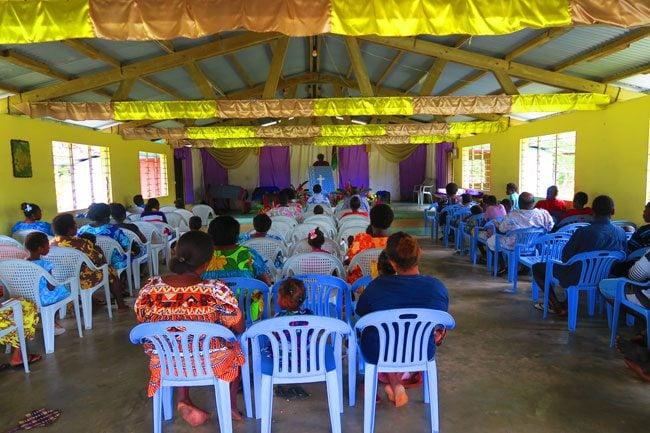 Going to Church in Lonnoc Vanuatu