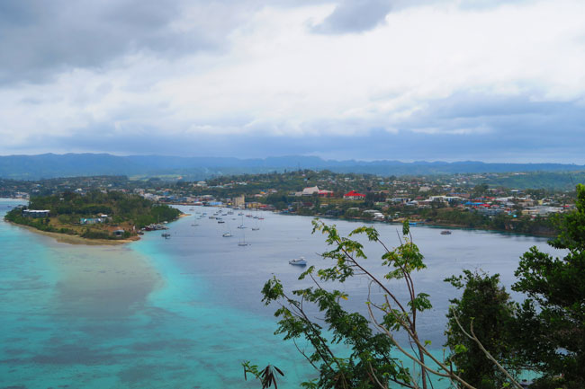 Port Vila Lookout Point