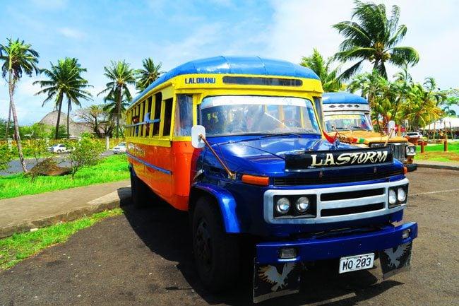 Lalumano Bus Samoa