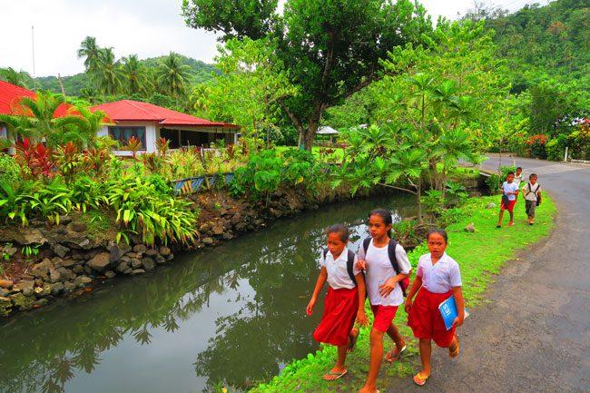 Lalumano Samoa country side