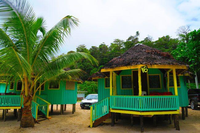 Lalumano Taufau Beach Fales