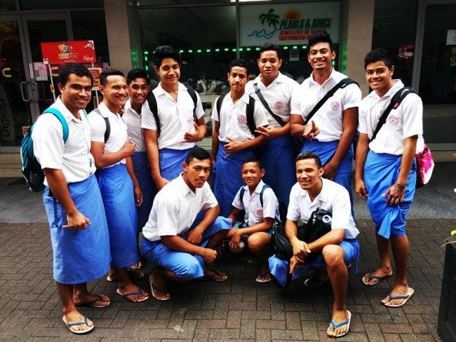 Lavalava skirts Samoa
