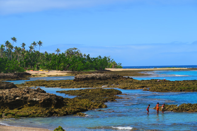 Lenakel Beach Tanna Island Vanuatu