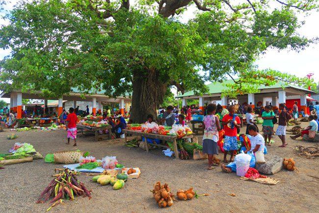 Lenakel Market Tanna Island Vanuatu