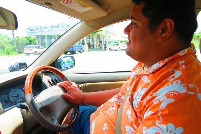 Levi the Samoan Driver
