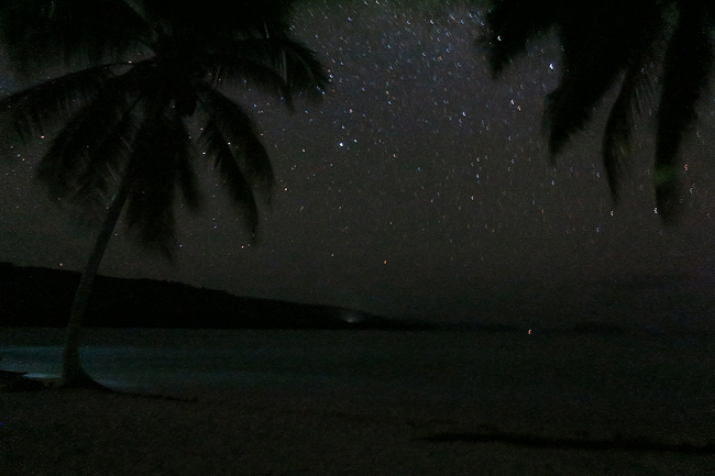 Lonnoc Beach Vanuatu South Pacific Stars