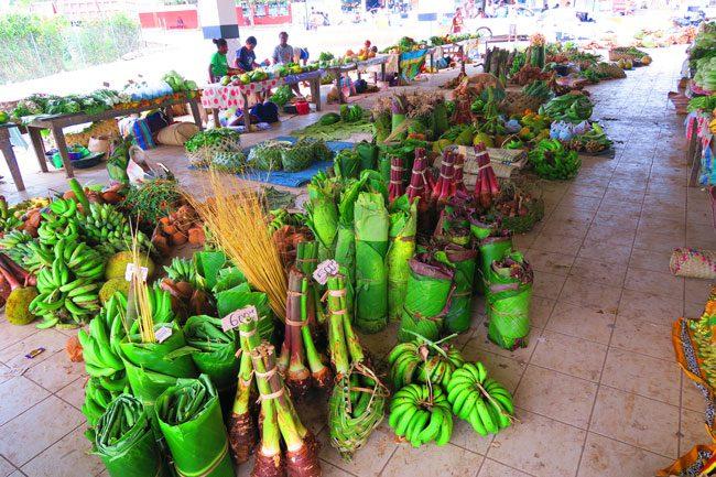 Luganville Market Espiritu Santo