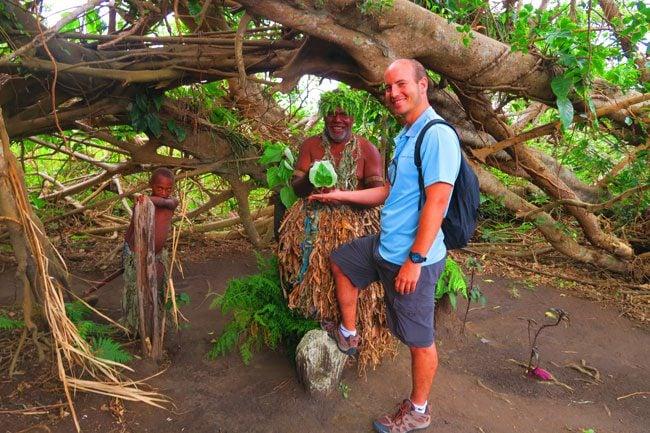 Magic Tour Tanna Island Heart Leaf with Chief