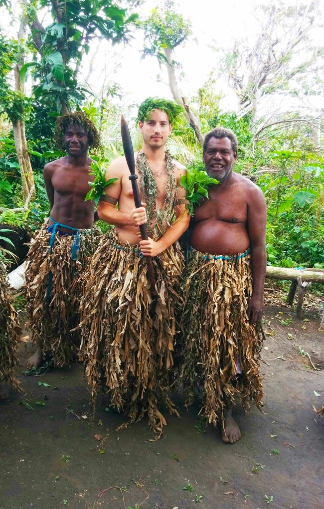 Magic Tour Tanna Island Playing Chief