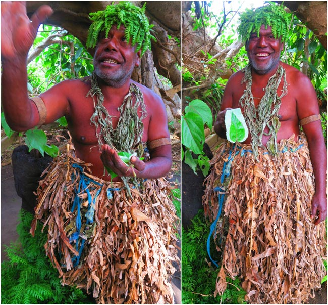 Magic Tour Tanna Island Vanuatu Chief