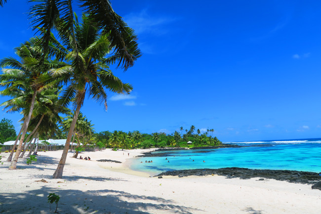 Matareva Beach Samoa