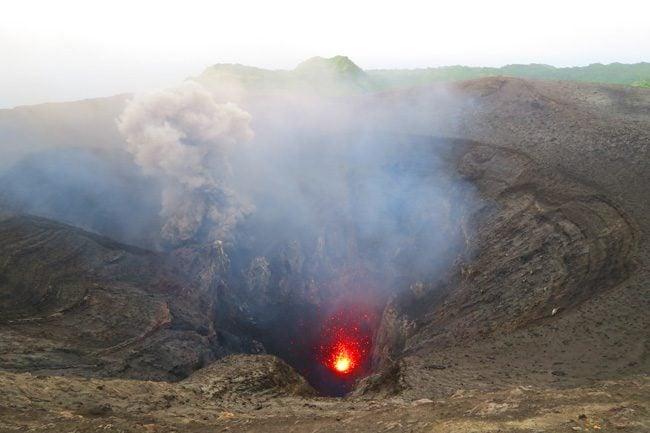 Mount Yasur Volcano Lava