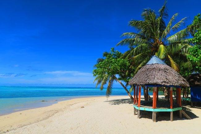 Namua Island Samoa Beach Fales
