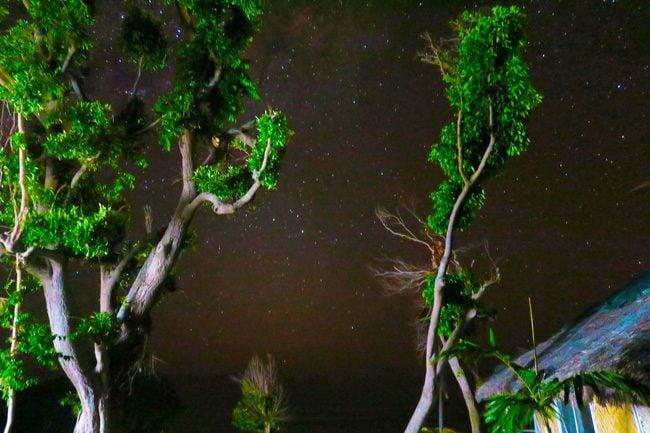 Night sky on Tanna Vanuatu