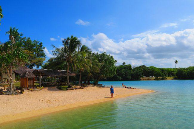 Oyster Island Espiritu Santo Vanuatu