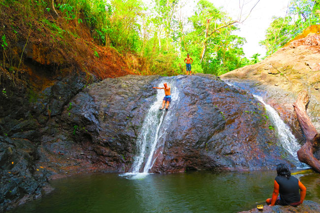 Papaseea Sliding Rocks Samoa
