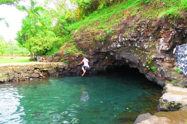 Piula Cave Pool Samoa