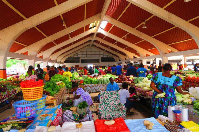 Port Vila Market Vanuatu