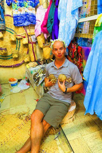 Port Vila garment market