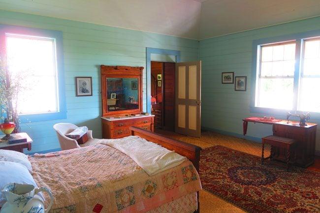 Robert Louis Stevenson Museum Apia Samoa bedroom