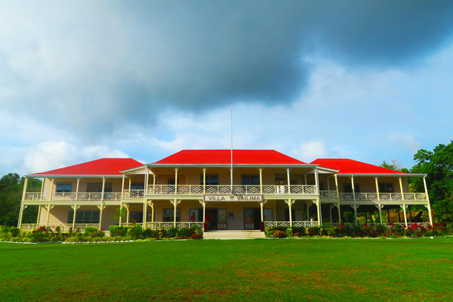 Robert Louis Stevenson Museum Apia Samoa exterior