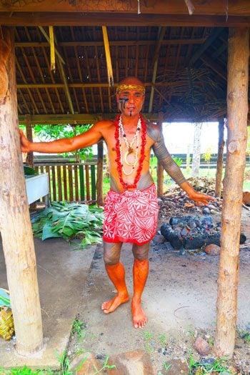 Samoan Cultural Village Apia - Chris