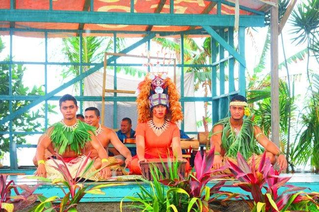 Samoan Cultural Village Apia ava ceremony