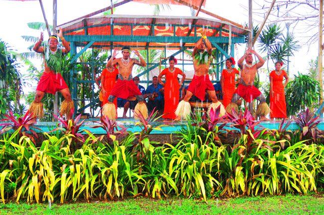 Samoan Cultural Village Apia samoan dance