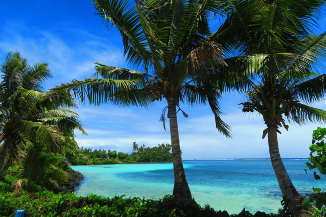 Savaia beach Samoa